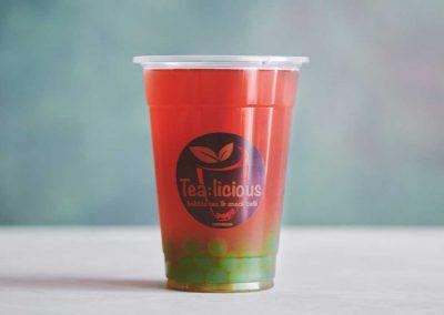 Tea:licious Jordbær Bubble Tea